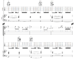 Tablature guitare - Christina Perri - A Thousand Years