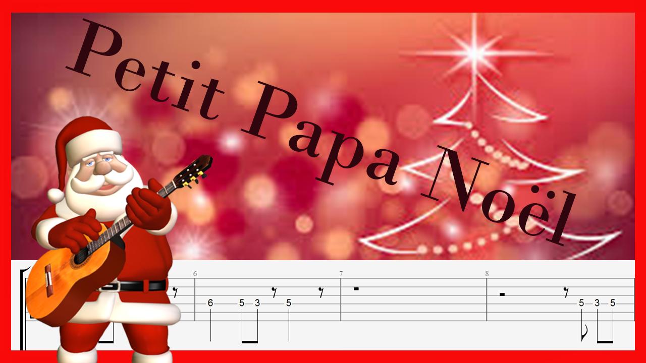 petit-papa-noel-guitar-tab